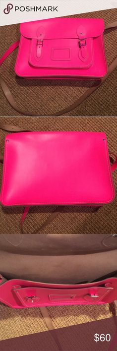 """Cambridge Satchel Company 13"""" Purse Like new condition perfect color for summer! Make an offer today  The Cambridge Satchel Company Bags Satchels"""