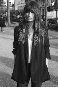 Exclusive: Caroline de Maigret Stars in—and Styles—Equipment's Fall Lookbook - Gallery - Style.com