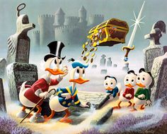 Dubious Doings at Dismal Downs by Carl Barks