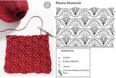 Point crochet -  - tuto crochet