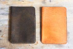 Winter Session Leather Ipad Mini Sleeve