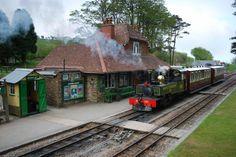 The Lynton & Barnstaple Railway North Devon UK Devon Uk, South Devon, Lark Rise To Candleford, Heritage Railway, Southern Railways, Photo Competition, Steam Engine, Steam Locomotive, Backyard