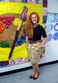 art teacher clothes
