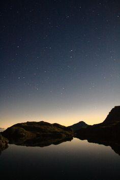 ITALY - Stars above Lago Nero - Lombardy Night Sky