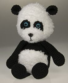 Haakpatroon panda Mindy