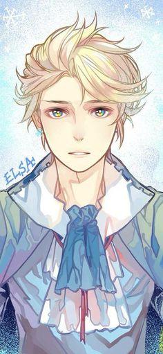 Elsa genderbend