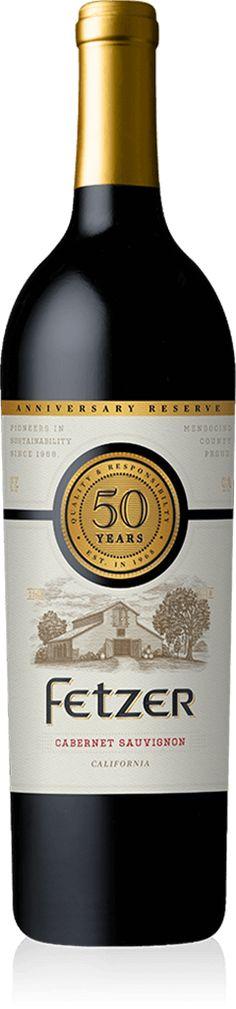 50th Anniversary Cabernet Sauvignon – Fetzer Wines