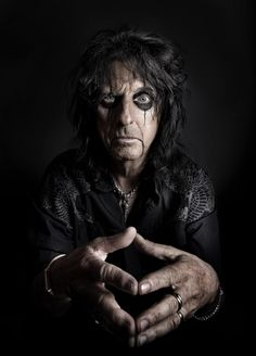 Alice Cooper and Vince Neil Portraits