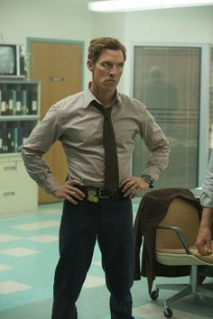 True Detective, Matthew McConaughy! Love this show  as for this man...oh the things I would do