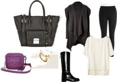 """""""Dark #Fashion!"""" by mommymentor ❤ liked on Polyvore"""