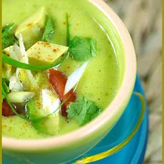 Cold Avocado, Orange and Lime Soup Recipe
