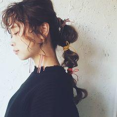 今日はお休みいただいてます😌 . . . 雨降らんでください🐌🐌🐌 Crown Hairstyles, Short Bob Hairstyles, Braided Hairstyles, Wedding Hairstyles, Hair Inspo, Hair Inspiration, Hair Arrange, Hair Setting, Pastel Hair