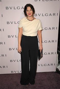 Drew Barrymore arrives at BVLGARI's event celebrating Elizabeth Taylor and her magnificent BVLGARI jewel collection in Beverly Hills on Feb. 19, 2013. Share 1