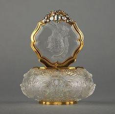 Antigo Vidro de Perfume - Alemanha / 1745.
