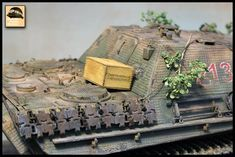 1/35 scale JagdPanther with laser cut zimmerit and wine crate Scale Models, Laser Cutting, Crates, Tanks, Studios, Military, Wine, Dioramas, Shelled