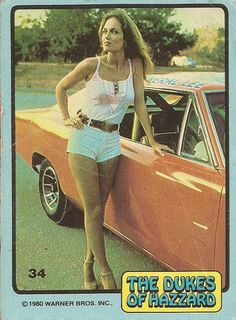 The Dukes Of Hazzard Photo: Catherine Bach modeling Car Girls, Pin Up Girls, Classic Tv, Classic Cars, Dukes Of Hazard, Catherine Bach, Vintage Tv, Vintage Jeep, Pt Cruiser