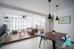 Decorating a flat in Singapore is both exciting and daunting.  IKEA, Carousell…