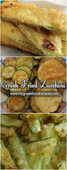 """More or less how my Neapolitan grandmother did this, but we called it """"cuccuziel"""" Fried Zucchini Recipe - Try this easy and delicious recipe here. In Greek, we call this mouthwatering, crispy appetizer kolokithakia tiganita (κολοκυθάκια τηγανιτά). Fried Zuchinni, Fried Zucchini Recipes, Zucchini Fries, Zucchini Appetizers, Recipe Zucchini, Greek Recipes, Italian Recipes, Vegan Recipes, Greek Fries"""