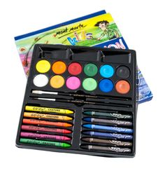 Art Shed Online - Mont Marte Kids Crayon Crayon Painting, Art Shed, Kids Corner, Paint Set, Invite Your Friends, Xmas Gifts, Craft Supplies, Diy Home Decor, Arts And Crafts