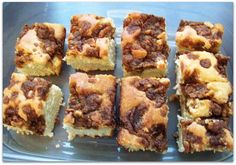 VEGAN COFFEE CAKE - Batter:  1/3 Cup Vegan Butter / 1 Cup Sugar / Egg Replacer = 1 egg / 1 TSP Vanilla / 1 1/2 Cup Flour  / 2 TSP Baking Powder  1/2 TSP Salt / 1 Cup Soy (or Rice, Almond or Flax) Milk  -----  Topping:   1/2 Cup Brown Sugar /  2 TBSP Flour / 1 TSP Cinnamon  / 1/2 Cup Chopped Walnuts /  3 TBSP melted Vegan Butter.