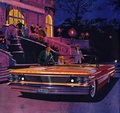 1960 Pontiac Bonneville Convertible: Art Fitzpatrick and Van Kaufman
