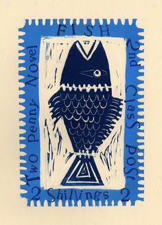 fish stamp : Jessica Rawlings Illustrator