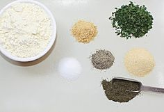 Home made ranch dressing mix with no preservatives