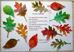 179_Arbre Automne_Feuilles de mots (25) Autumn Activities, Activities For Kids, Crafts For Kids, Autumn Art, Autumn Trees, Fall Arts And Crafts, Kids Songs, Nature Crafts, Learn French