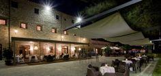 Al fresco dining option, Park Hotel ai Cappuccini, Gubbio
