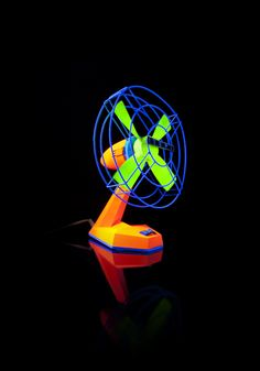 Make props for a UV theme photobooth... UVproject by NoReason , via Behance