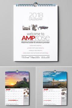 Corporate calendar design and print Calendar Design, Graphic Design, Prints, Visual Communication