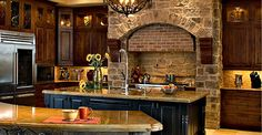 rustic southwestern kitchen