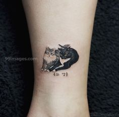 28 Miniatur-Tier-Tattoos für Frauen 28 Miniature Animal Tattoos for Women Here you are! The dream tattoos of any animal lover – not to mention the adorable little tattoo designs you probably … tattoo for women Neue Tattoos, Body Art Tattoos, Tribal Tattoos, Small Tattoos, Tattoos For Guys, Black Cat Tattoos, Finger Tattoos, Sleeve Tattoos, Pretty Tattoos