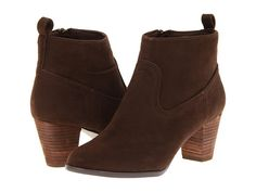 Christin Michaels Asha Brown Microsuede - 6pm.com
