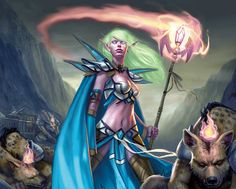 WoW TCG Art Gallery: Mind Soothe - World of Warcraft - MMOsite