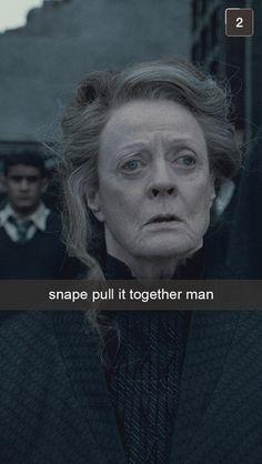 Harry Potter   25 Snapchats From Hogwarts Professors