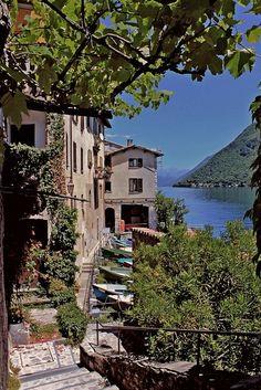 Gandria, Ticino, Italy