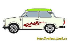 The Trabant is a car that was produced by former East German Auto Maker VEB Sachsenring Automobilwerke Zwickau in Zwickau, Sachsen. It was the most common vehicle in East Germany. Find the link to download a free paper model of this cult car at Papermau!