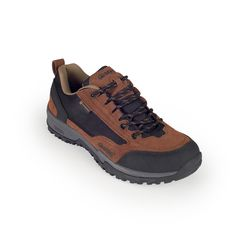 Delivering excellent grip and traction in stable terrains, this comfy waterproof sneaker is perfect for urban treks.