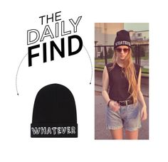 """Daily Find: Local Heroes Beanie"" by polyvore-editorial ❤ liked on Polyvore featuring Local Heroes and DailyFind"
