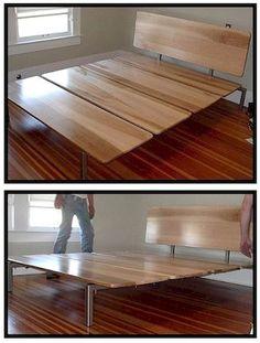 plan pour fabriquer un lit plateforme lits en 2018. Black Bedroom Furniture Sets. Home Design Ideas
