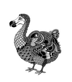 Always loved the dodo bird for what it stands and this versionis magnificient!  Madegascar 25 : www.rosalindmonks.com