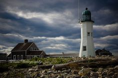 Scituate Lighthouse, Scituate Massachusetts     Photo by Jeff Folger of Vistaphotography