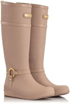 Arena - KNEE HIGH - Sheepskin Rubber Boots - MoovBoots