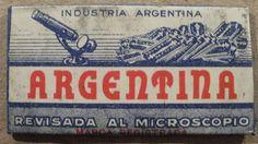 "VINTAGE DOUBLE EDGE SAFETY RAZOR BLADE ""Argentina"""