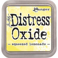 Ranger Tim Holtz Distress Oxide Squeezed Lemonade www.papercrafts.ch