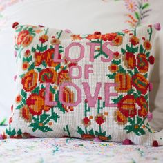 Lots of Love Tapestry Cushion