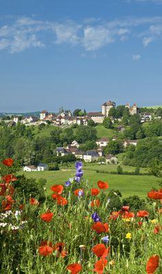 Limousin, village de Curemonte