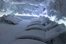 The biggest salt cave therapy of Spain in Toledo (By Saltium)