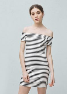 Fitted dress - Dresses for Woman | MANGO